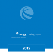 2012 Triple Bottom Line Report Cascade Engineering
