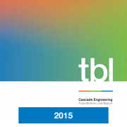 2015 Triple Bottom Line Report Cascade Engineering