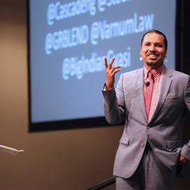 Gyasi Ross at Young Professionals of Color Conference 2016