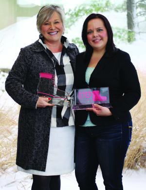STEP Award Recipients JoAnne Perkins and Caitlin Townsend Lamb